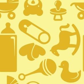 Nursery - 8in (yellow)