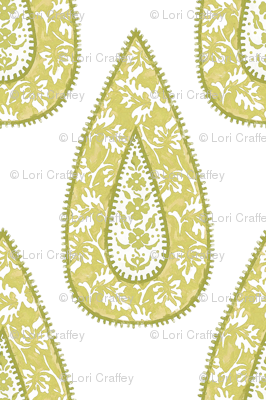 Tear Drop Wheat Fabric Littlerhodydesign Spoonflower