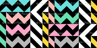 Memphis Zigzag Small
