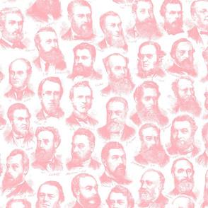 Parliament of Victoria 1877 Pink colour way