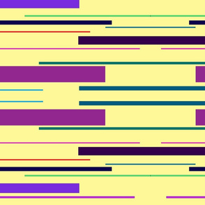 Yellow Multicolor Lines