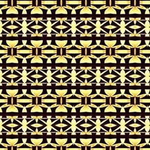 Gold and Ebony Inlay