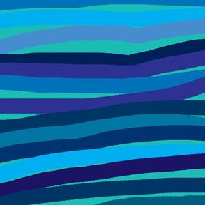 Blue Aqua Gradient