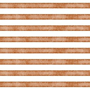 salted watercolor stripes // pumpkin orange