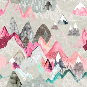 Call of the Mountains (pink)