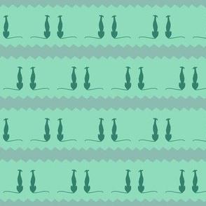 greyhounds, green, turqoise