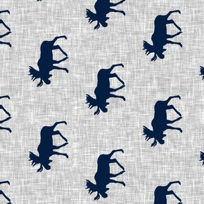 navy moose on light grey linen (90)
