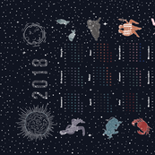 2018 Astrological Calendar
