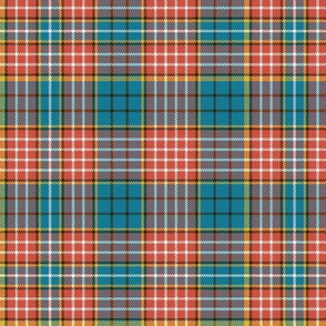 "Ogilvy clan tartan, 6"" ancient colors"