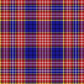 "Ogilvy clan tartan, 6"" modern colors"