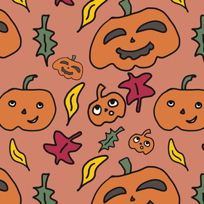 Pumpkins_and_Leaves