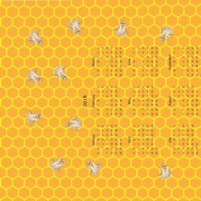Bees_Calendar_2018