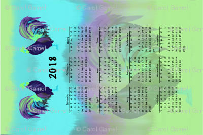 Glorious Rooster Calendar