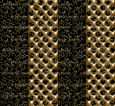Rrbronze_and_black_polka_dot_stripe_preview