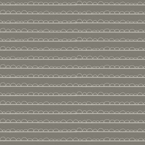 frilly stripe light grey/dark grey