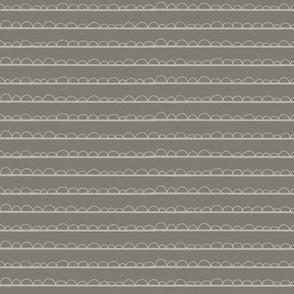 frilly stripe light grey/dark grey