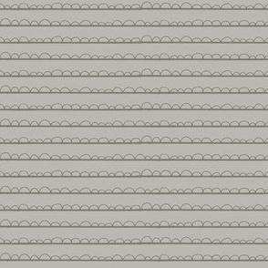 frilly stripe warm greys