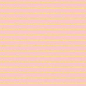 frilly stripe lemon/pink
