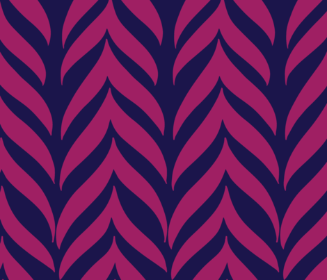 PsyGrv_NavyPink_Chevron fabric by hollykz on Spoonflower - custom fabric