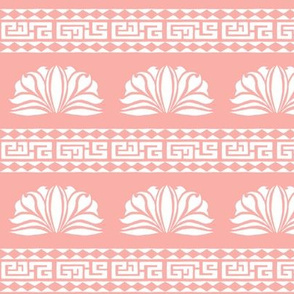 LOTUS STRIPE Light Peach