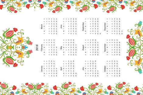 k_2018 fabric by dariara on Spoonflower - custom fabric