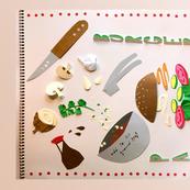 Paul Burgers cut paper recipe