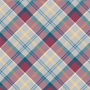 Blue Berry Tartan Plaid