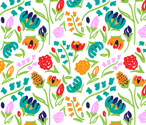 English_Garden fabric by wink&smile on Spoonflower - custom fabric
