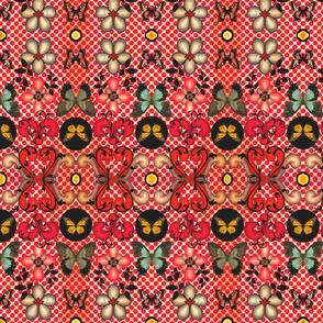 vintage dimestore fabric