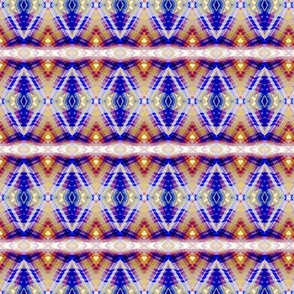 Jewel Toned Diamond Pattern