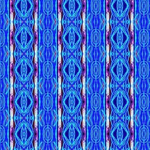 Cobalt Blue Etching