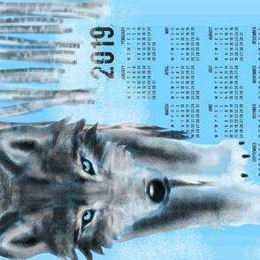 2019 Wolf Calendar