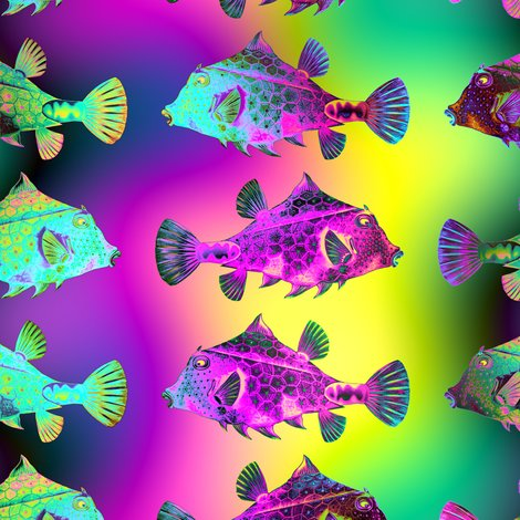 Rfunny_fish_3_rainbow_underwater_ocean_stripes_by_paysmage_shop_preview