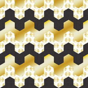Art Deco Hexagons