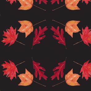 Patricia's leaves-black