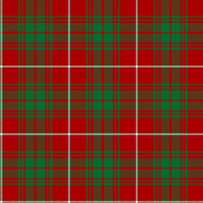 """Fitzgerald tartan, Baluch regiment modern colors, 6"""""""
