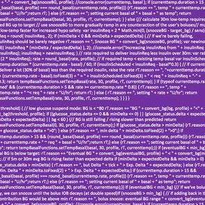 OpenAPS oref0-determine-basal (no spaces, purple)