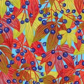Wild Grapes mix (blue)
