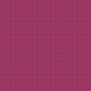 Cranberry Plaid - Small Check