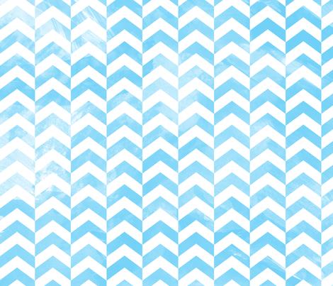 Hurricane Season, Water Chevron fabric by thetwistedbit on Spoonflower - custom fabric