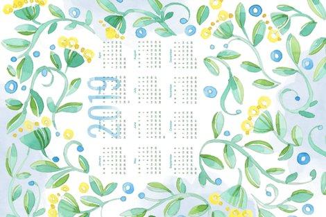 2019_calendar_tea_towel_vine_flowers_150_shop_preview