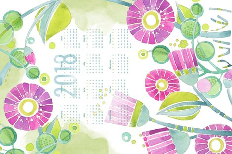 R2018_calendar_tea_towel_purple_flowers_watercolor2_150_shop_preview