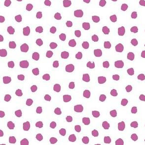 dark lilac purple dots