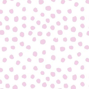 lilac light dots fabric