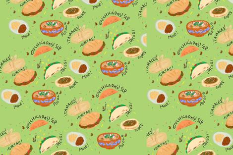 micomida fabric by emaalva on Spoonflower - custom fabric