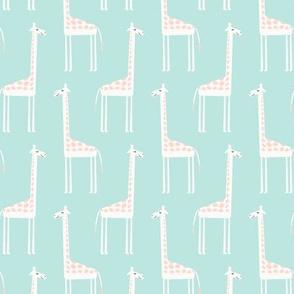 cute giraffes (pink)