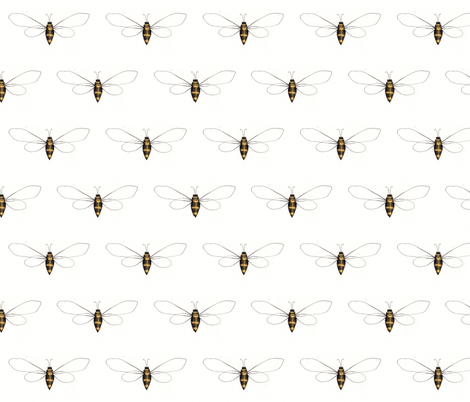 Busy Bee fabric by dearling_design_co_ on Spoonflower - custom fabric