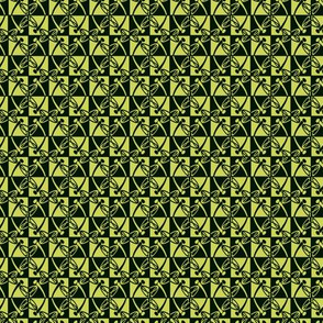 Alternate Reflections (Chartreuse, small)