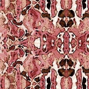 Neopolitan Faded Ikat Batik