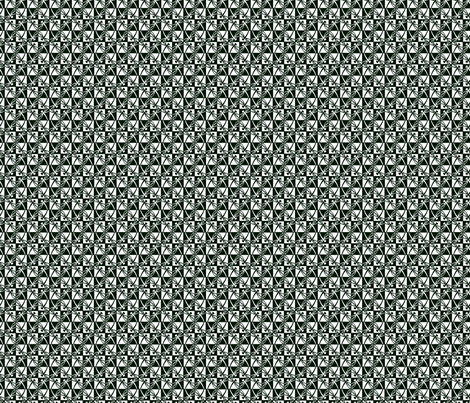 Checkered Reflections (B&W, small) fabric by gingerprints on Spoonflower - custom fabric
